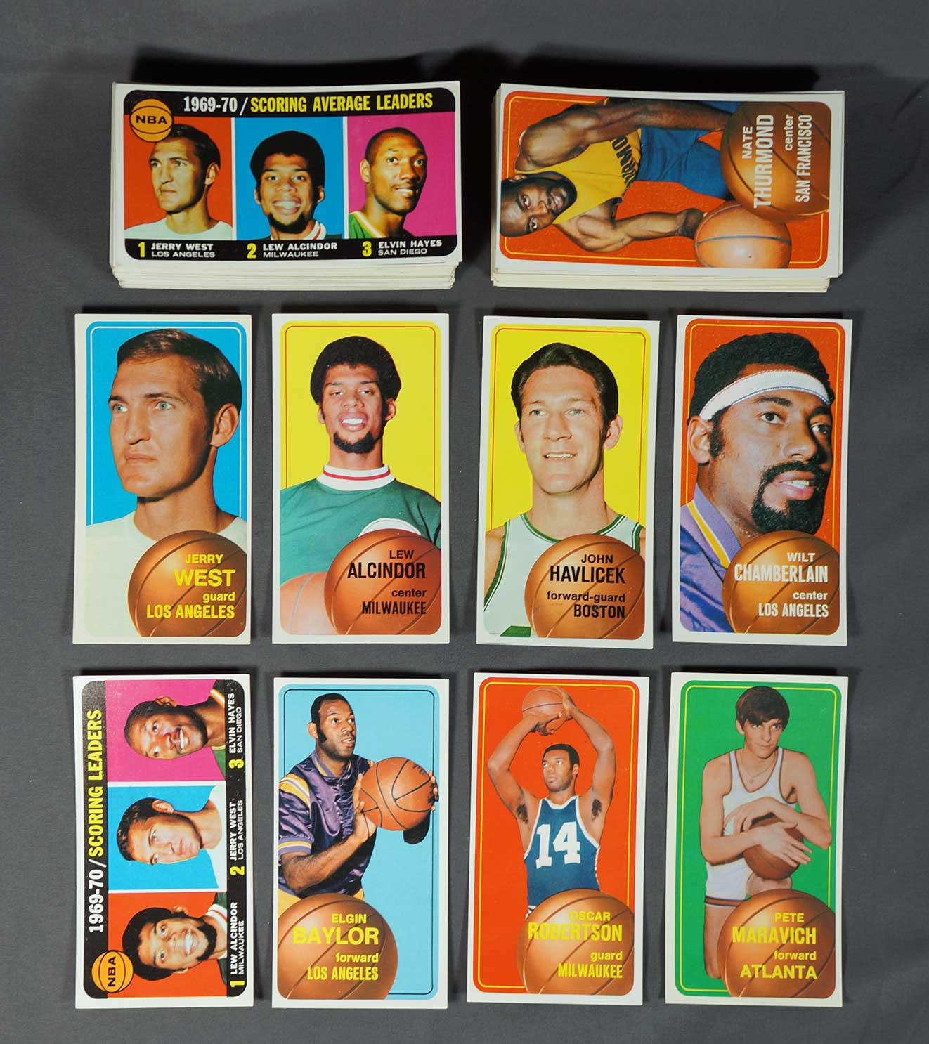 1970 Topps Basketball Complete Set