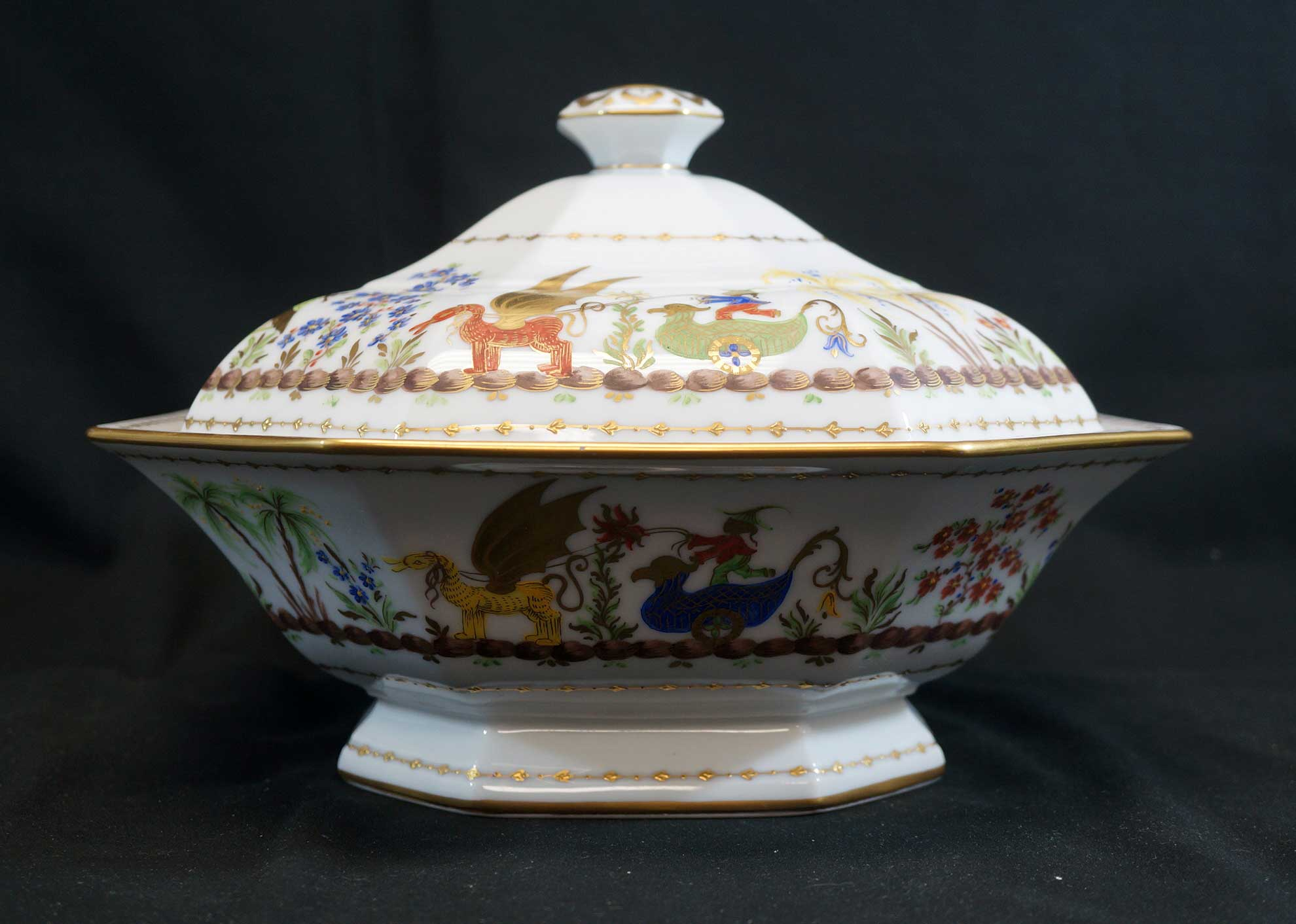 Tiffany & Co. Cirque Chinois Covered Server