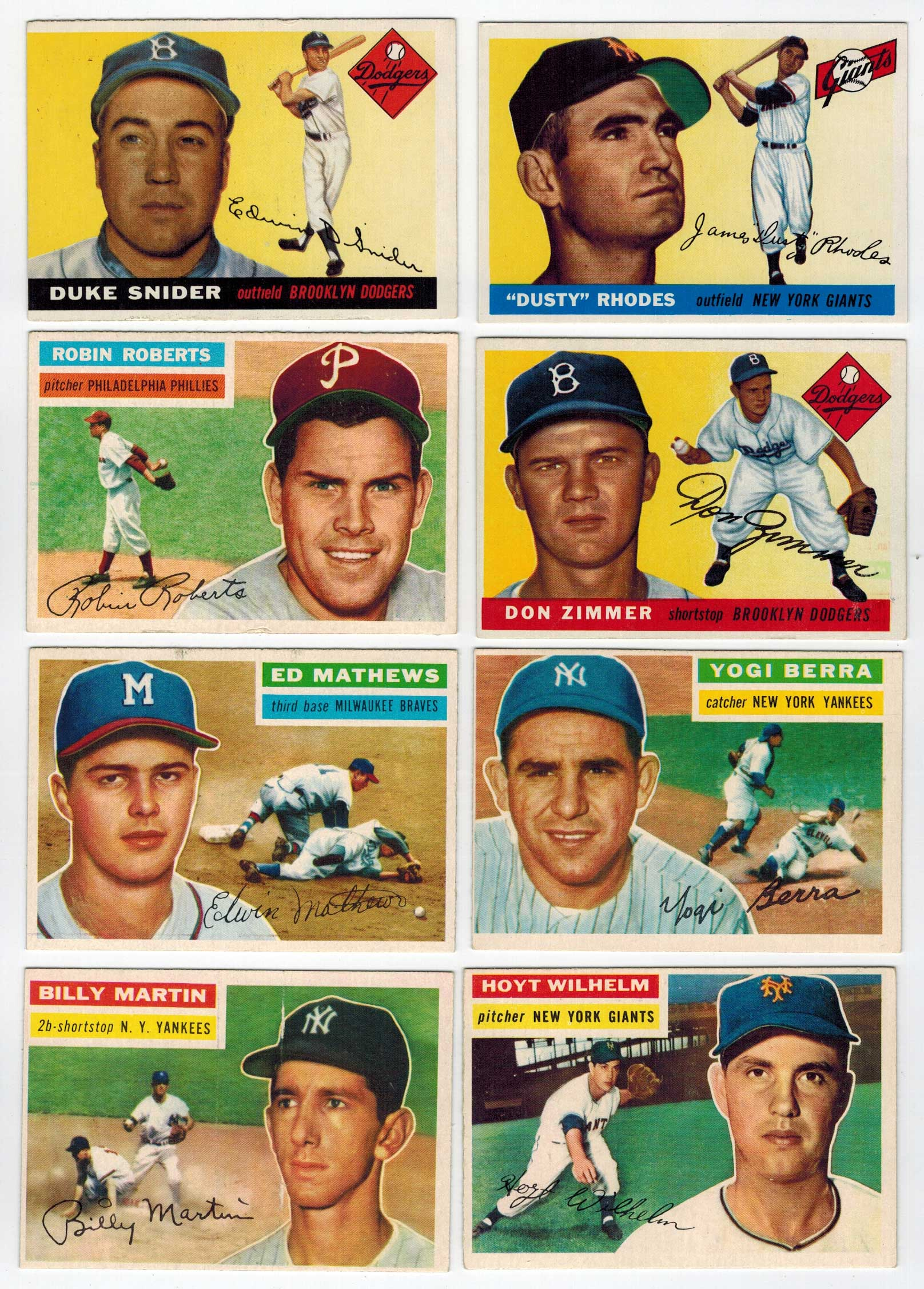 1956 Topps Near Complete Set (330) Cards
