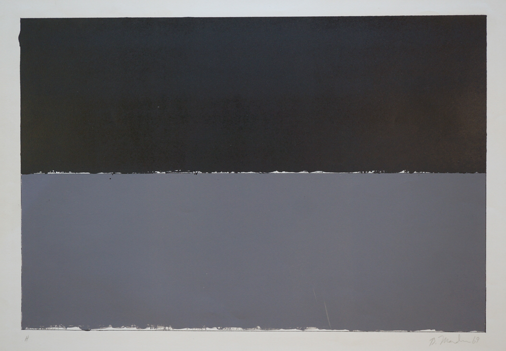 Brice Marden, Untitled Screenprint in Colors, 1969