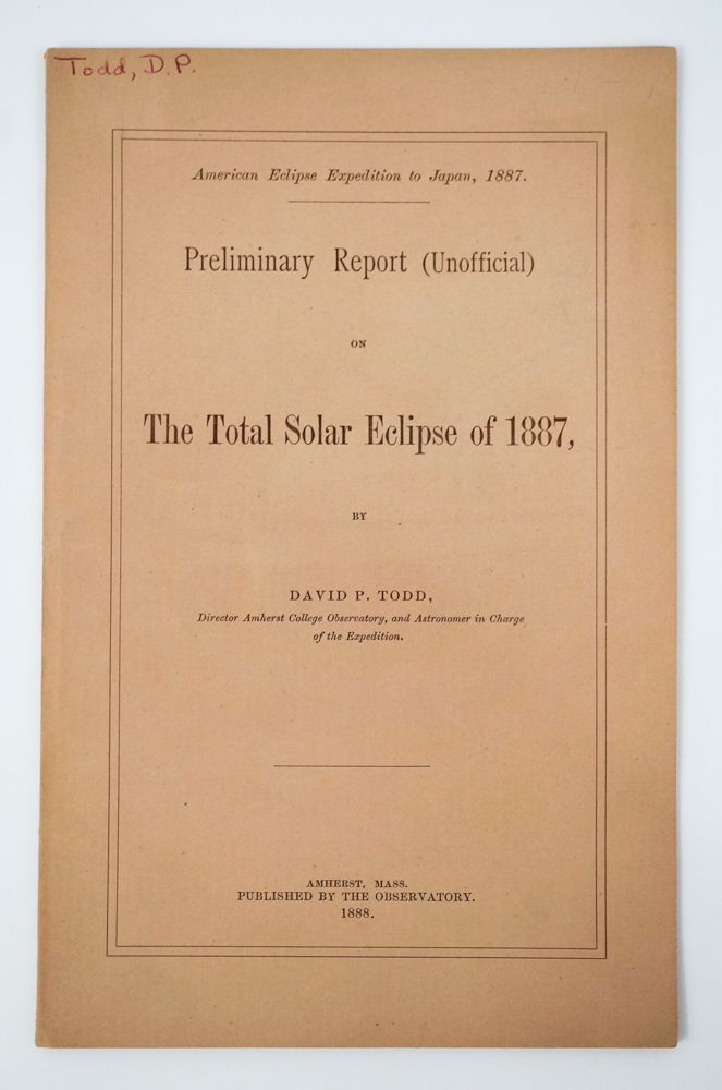 The Total Solar Eclipse of 1887