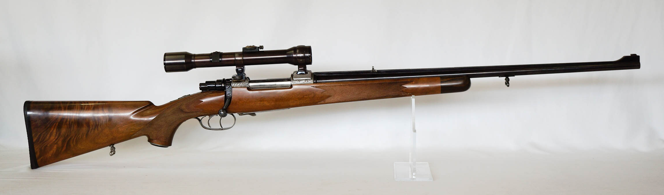 Engraved Dschulnigg Austrian Sporting Rifle
