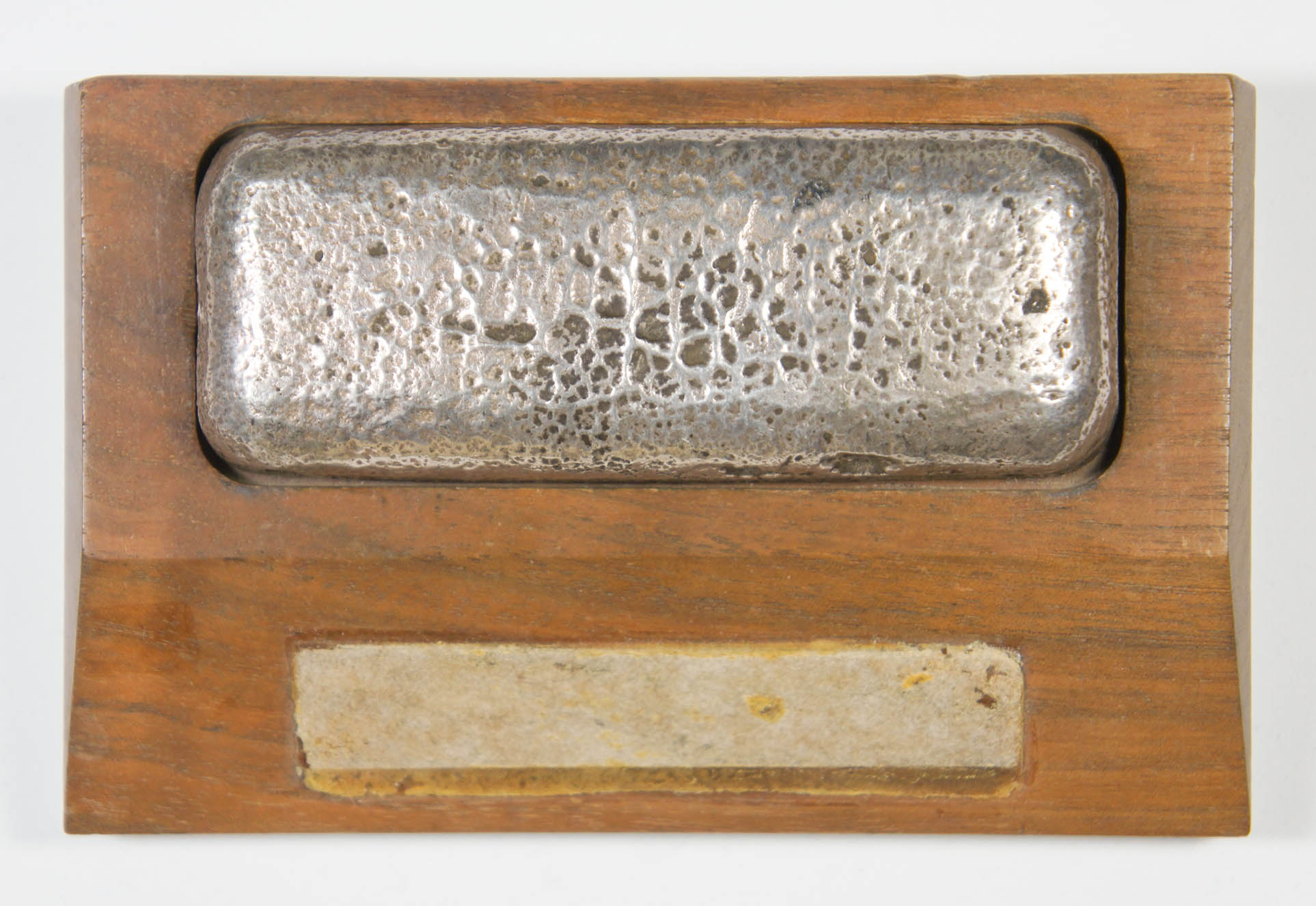 .999 Fine Silver Ingot Weighing 14.5 Troy Ounces