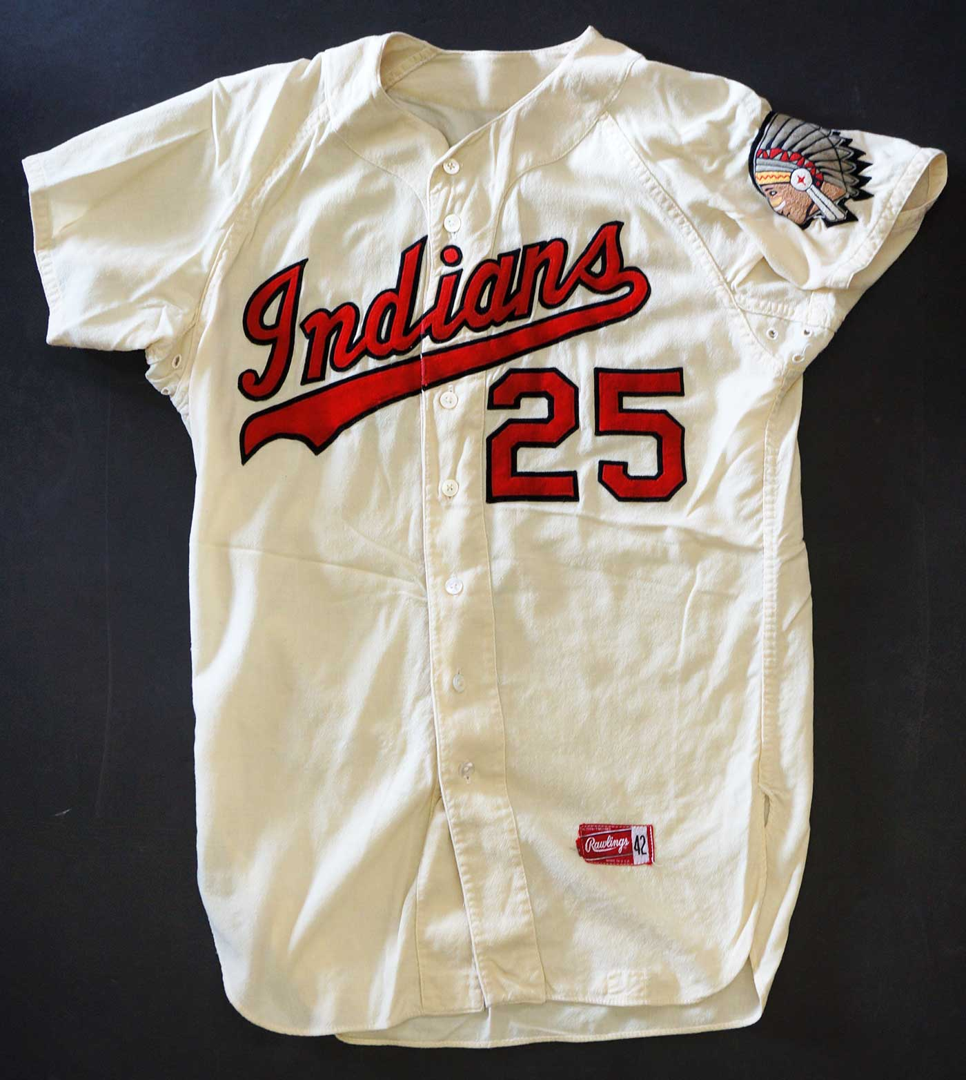 Spokane Indians Vintage Game-Used Home Jersey