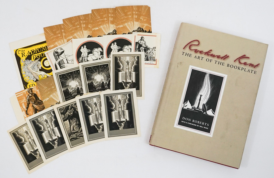 Rockwell Kent Bookplates and Work