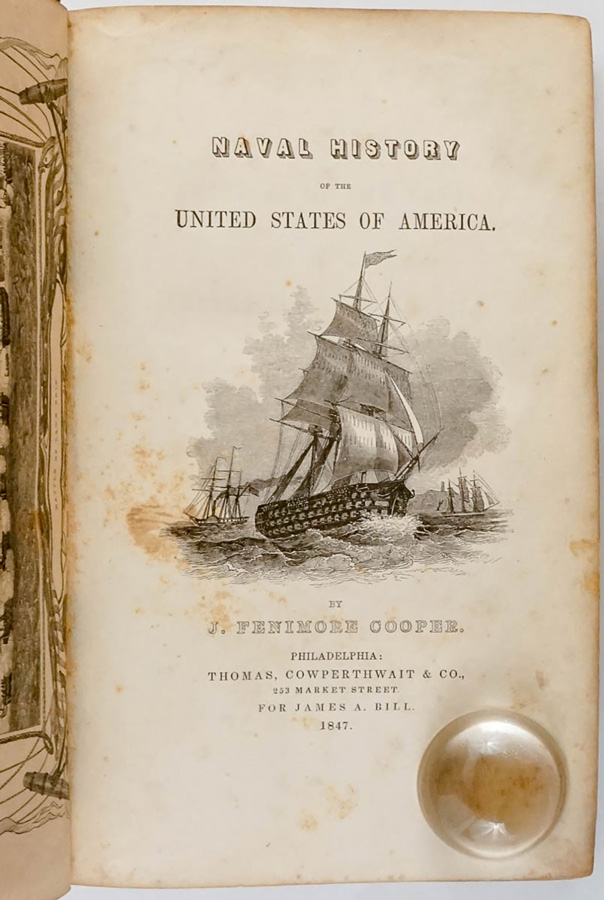 Naval History of the United States of America