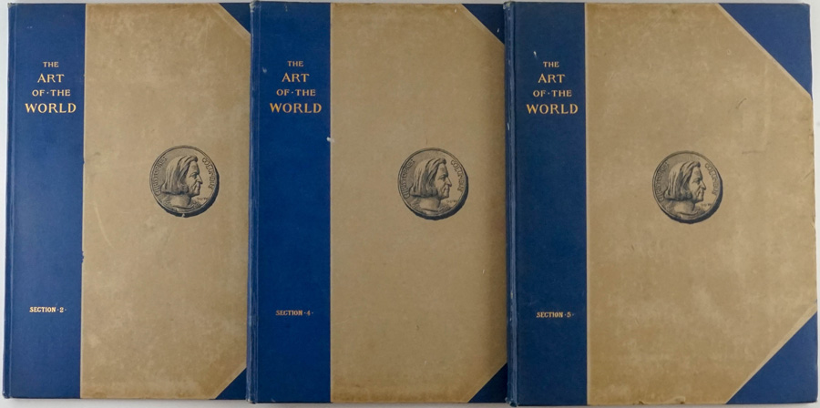 The Art of the World, Volumes 2, 4 & 5; 1893