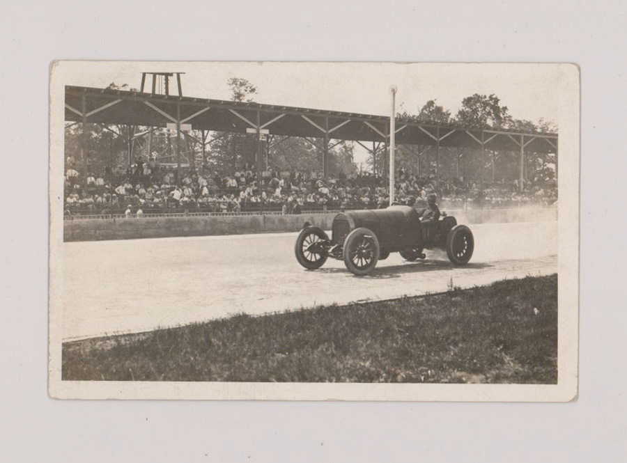 Early 1900's Indianapolis 500 Real Photo Postcard