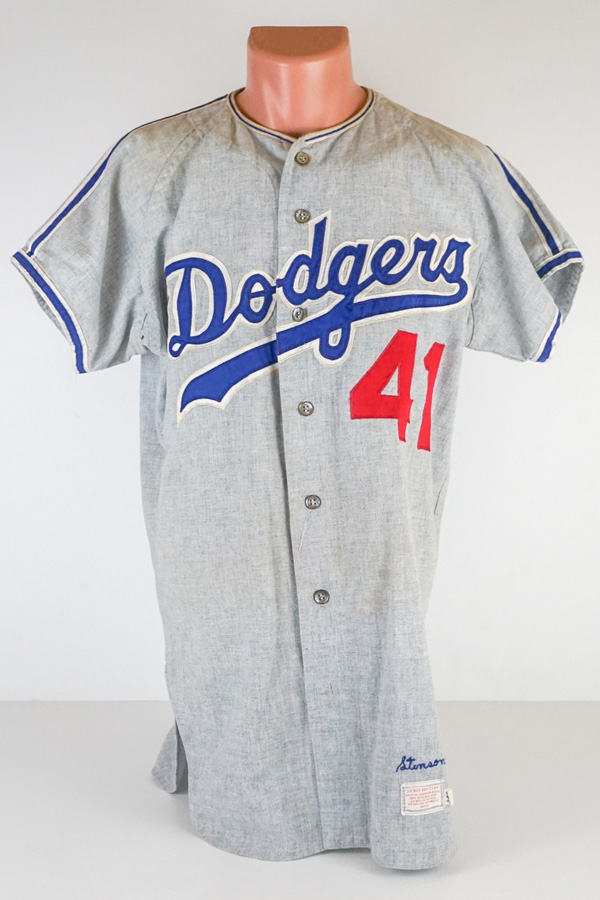 Bob Stinson 1970 Los Angeles Dodgers Game Jersey