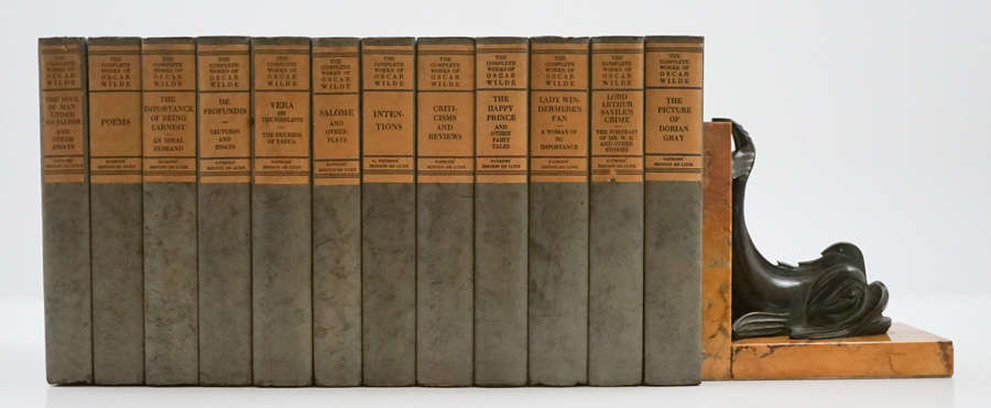 The Complete Works of Oscar Wilde (1923 - 12 Vol)