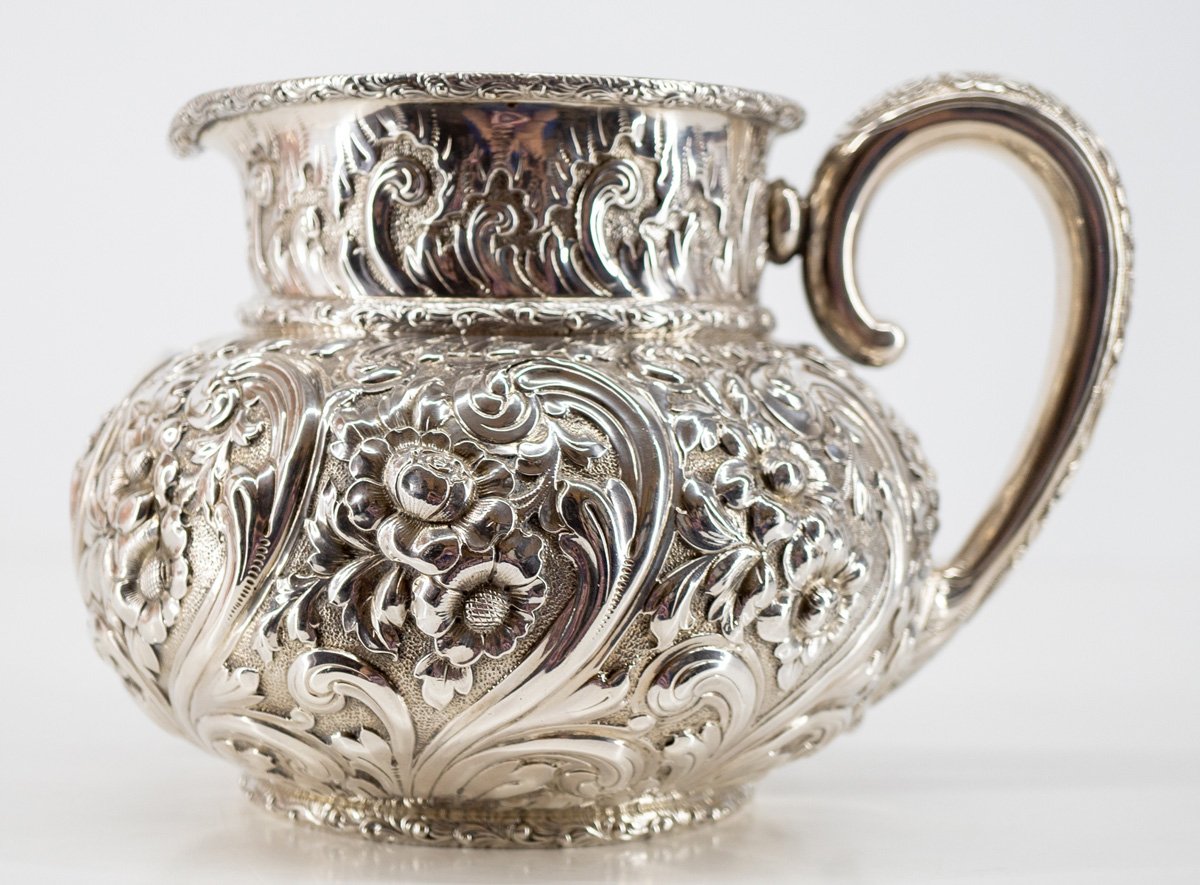 Theodore Starr Ornate Sterling Pitcher