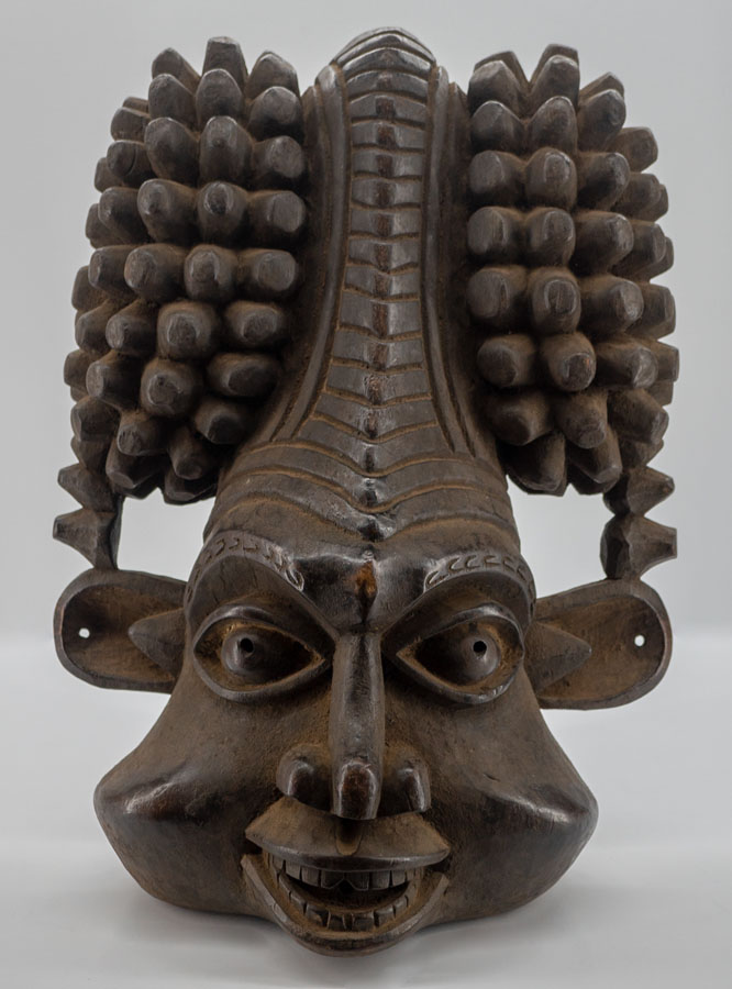 Gigantic Bamun African Mask from Cameroon