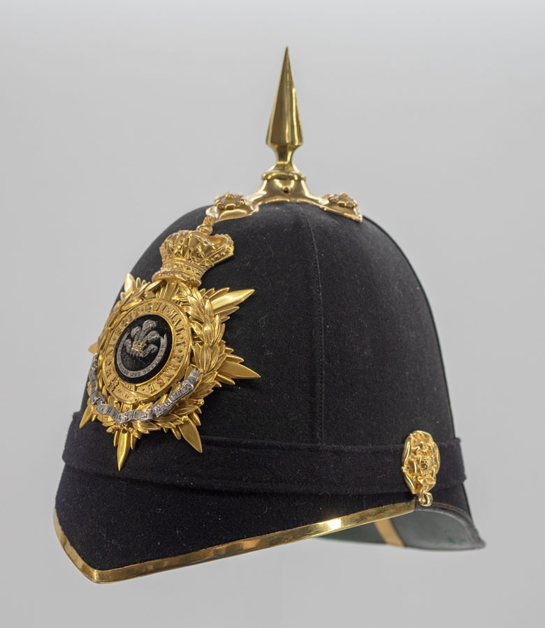 South Wales Borderers Officer's Helmet