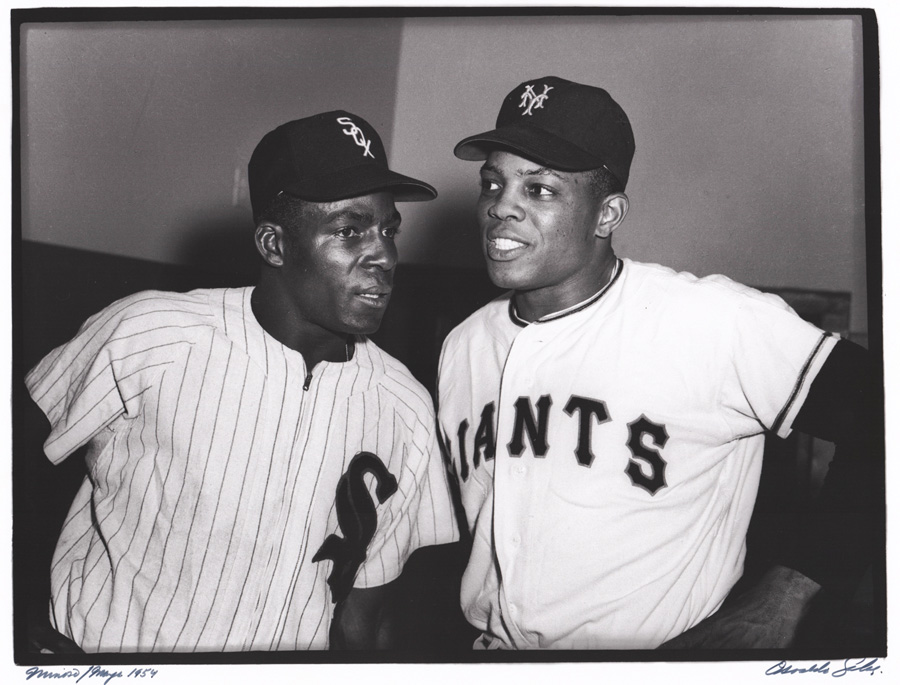 b8ef72656b9 Wille Mays   Minnie Minoso Photograph by Salas