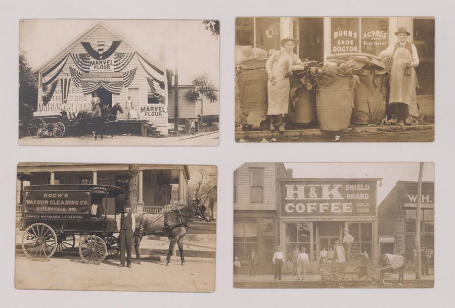 American Business and Storefronts RPPC's