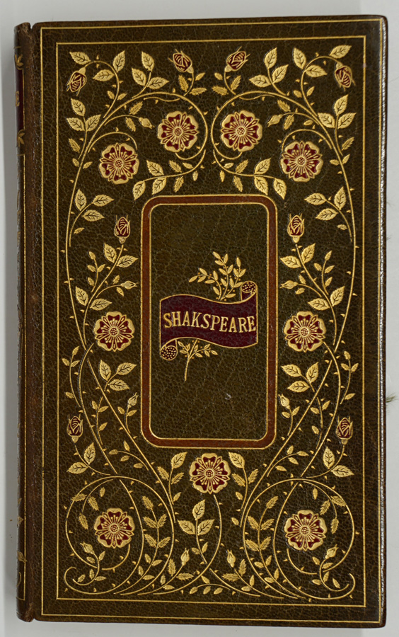 Fore-Edge Painting: Shakspeare 1823