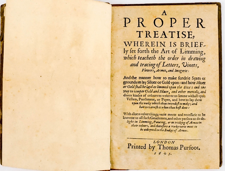The Art of Limming, Thomas Purfoot 1605
