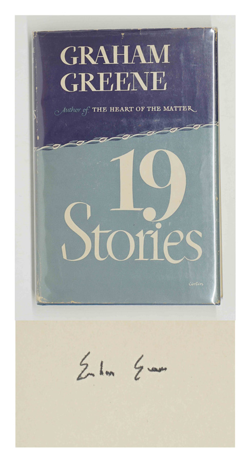 19 Stories by Graham Greene Signed Book