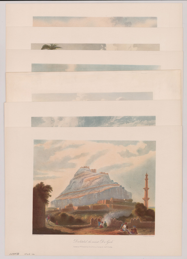Six Grindlay's Views of India 1826-30