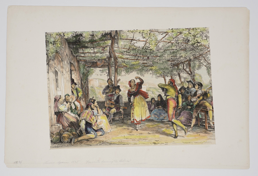 1835-36 John Frederick Lewis Color Lithographs
