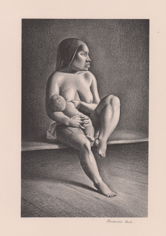 Rockwell Kent Signed Lithograph