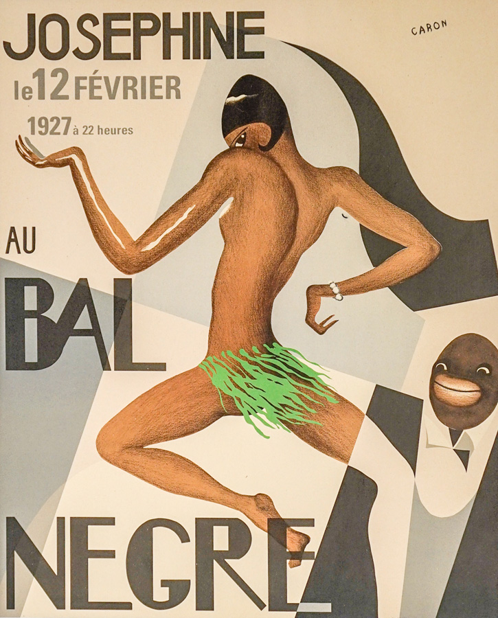 Josephine Baker Lithograph Poster