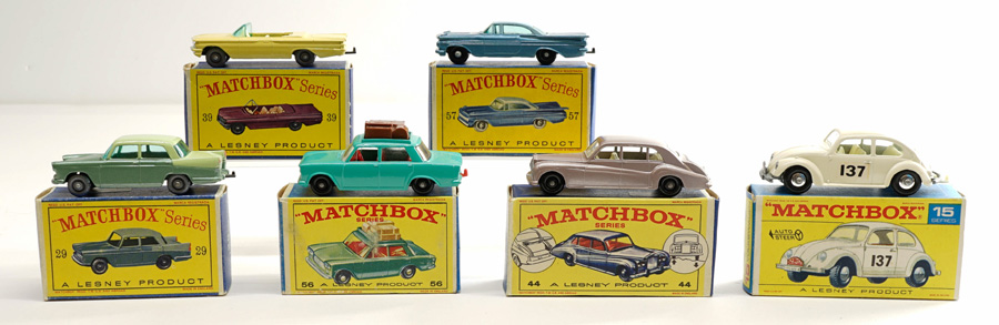 Matchbox Lesney Vintage Vehicles with Boxes (6)