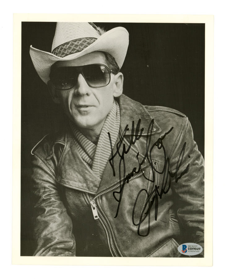 Jerry Lee Lewis Signed 8 x 10 Photo Beckett COA