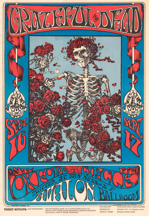 Grateful Dead Poster FD-26 First Printing