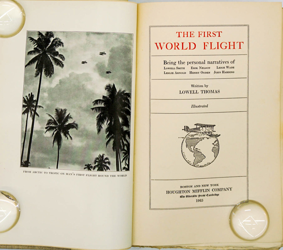 The First World Flight 1925 Limited Signed