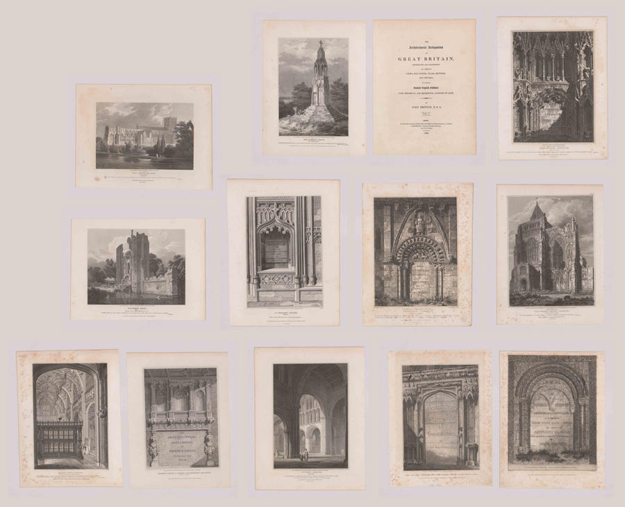 John Britton, Architectural Antiquities [English]