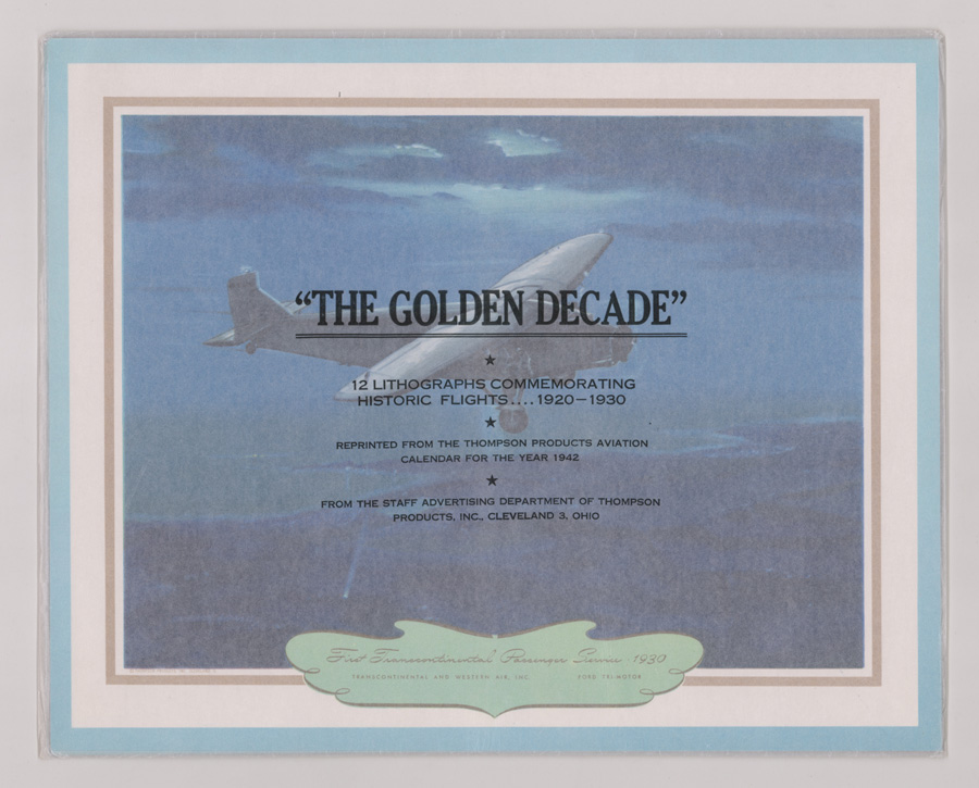 The Golden Decade Lithographs [Historic Flights]