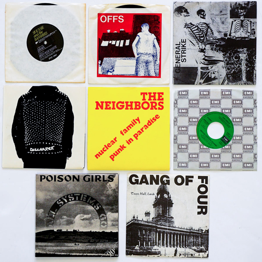 New Wave, Punk Rock (8) 45's Offs and More