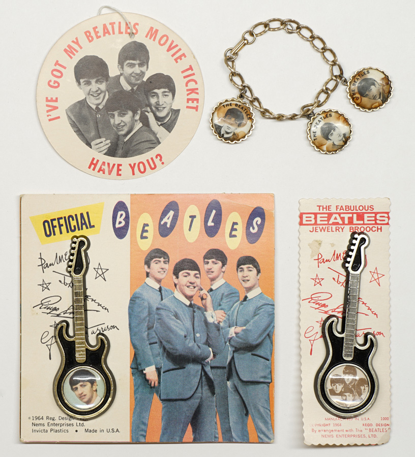 The Beatles Vintage Jewelry and Souvenirs