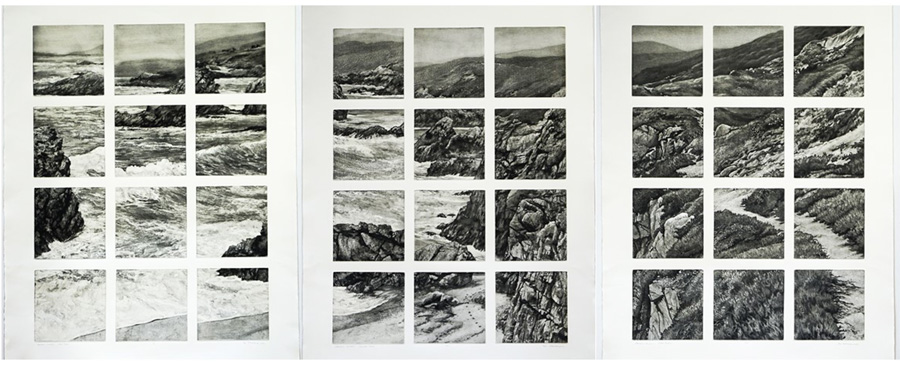 Arthur Werger Large Etchings [Still Pictures]