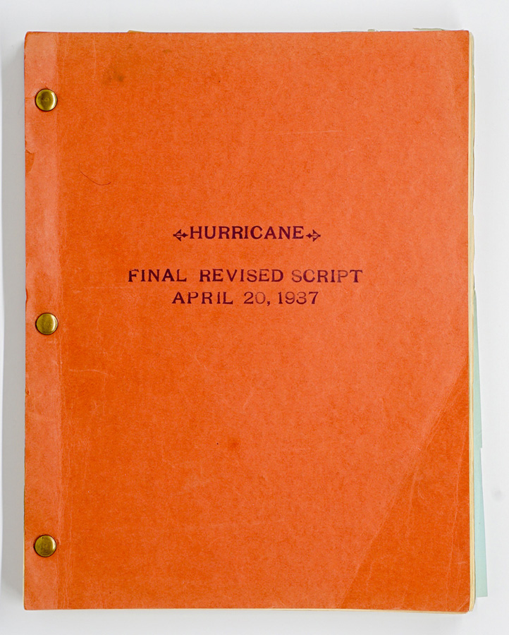 The Hurricane (United, 1937) Final Revised Script