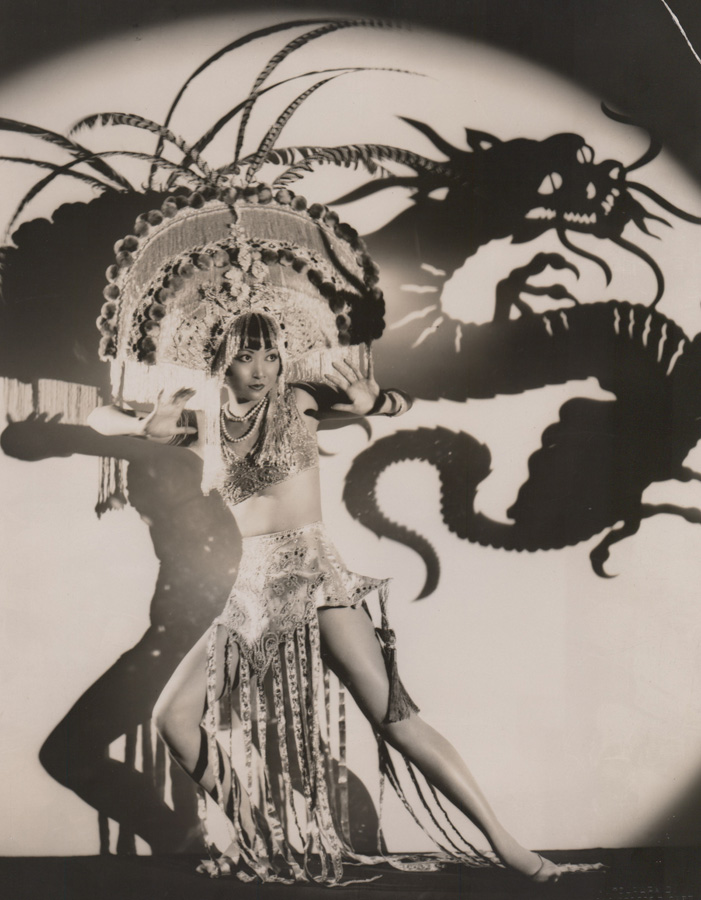 Anna May Wong Photographed by Eugene Richee