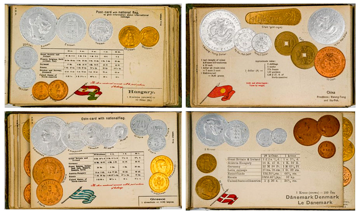 The Coinage of Different Countries; Hornung