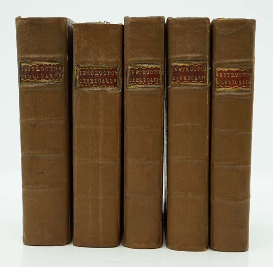Instructor Clericalis by Gardiner 1717-24 (5 Vol)