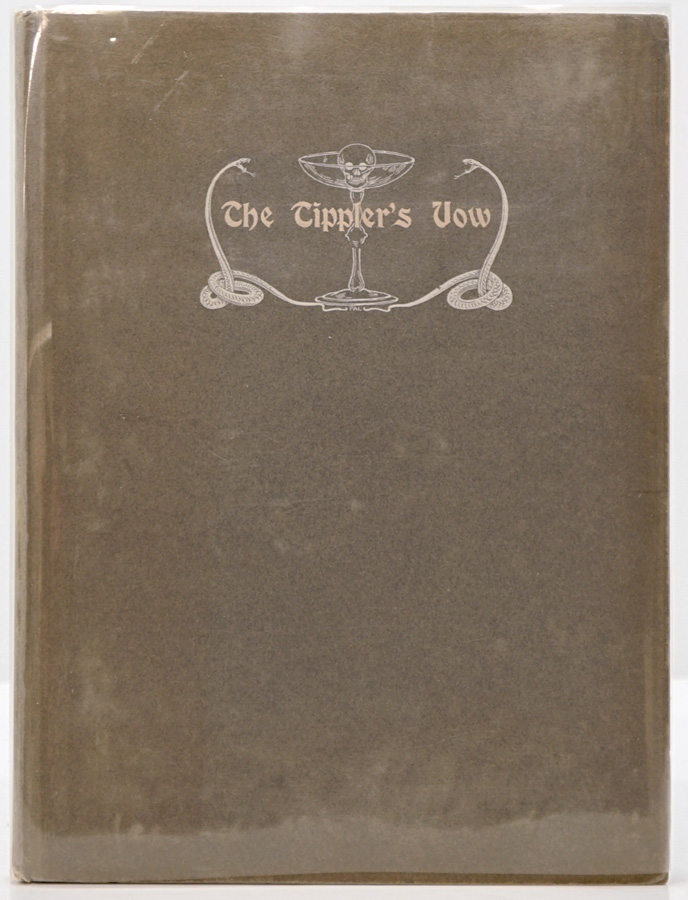 The Tippler's Vow by Fairchild INSCRIBED