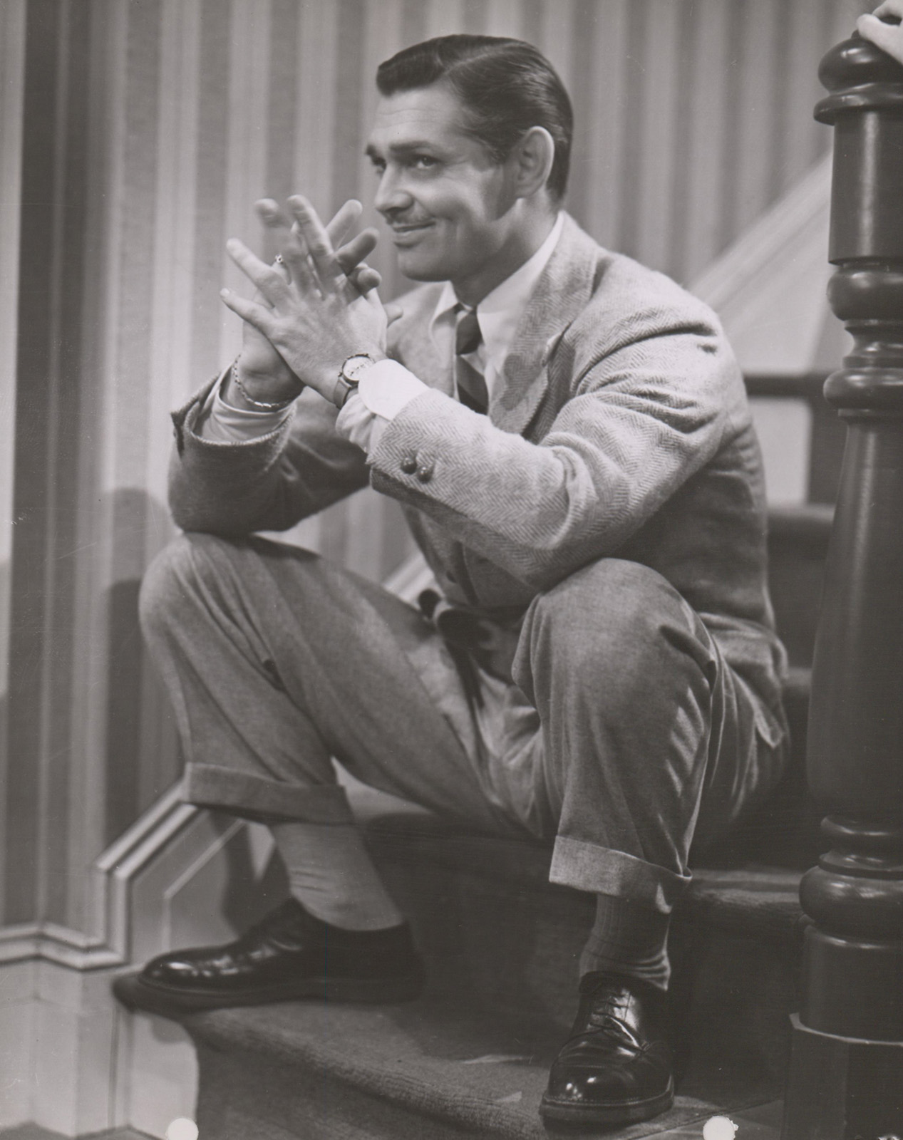 Clark Gable Keybook Photo in 'Test Pilot' (1937)