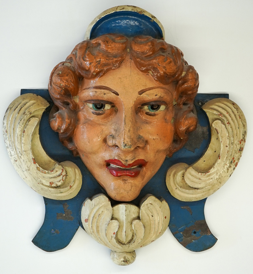 Dentzel Carousel Head Frederick Fried Collection