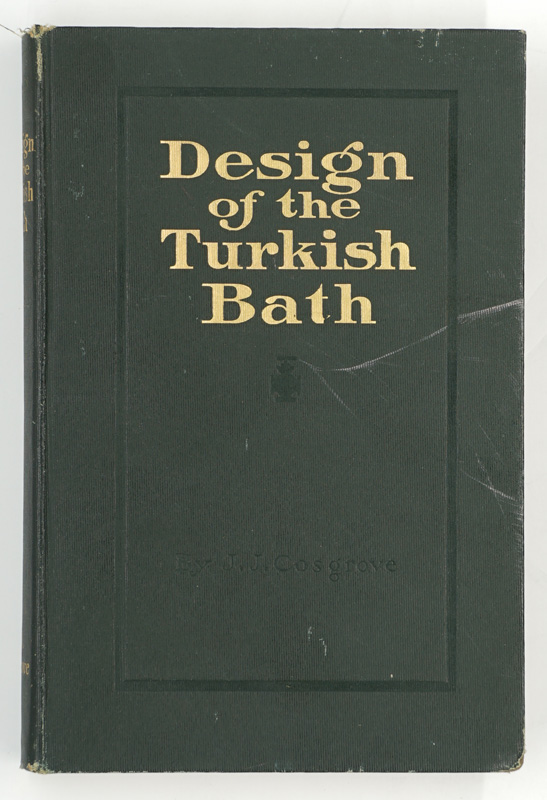 Design of the Turkish Bath by Cosgrove 1913