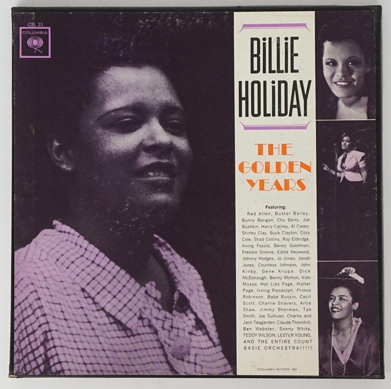 Billie Holiday 'The Golden Years' LP 3 Vol Set