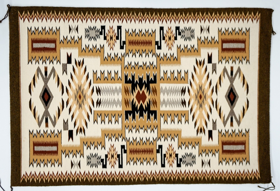 Navajo Textile by Lillie Touchin