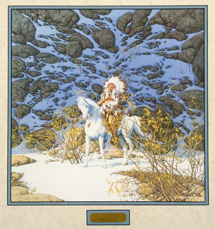 Bev Doolittle Signed and Numbered Print