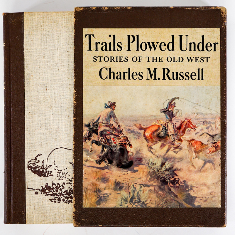 Trails Plowed Under Charles Russell 1943 SCARCE