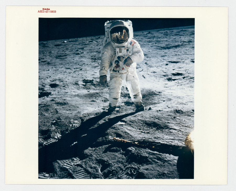 NASA Original Photograph Red Letter AS11-40-5903