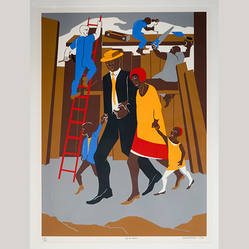Jacob Lawrence — The Builders, The Family