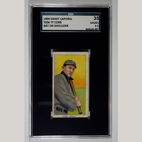 1909 T206 Ty Cobb Sweet Caporal SGC 35